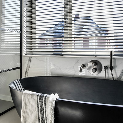 raamdecoratie badkamer inhuisplaza