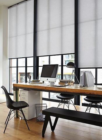 raamdecoratie voor kantoor