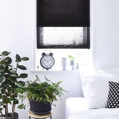 plisse duette slaapkamer inhuis plaza
