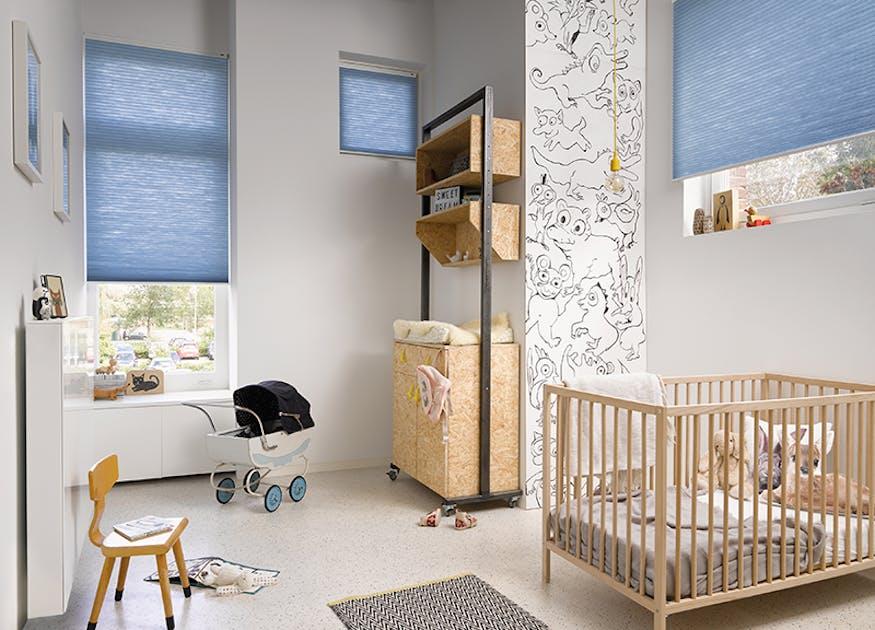 Betere 5x babykamer inspiratie: de meest geschikte raamdecoratie NA-54