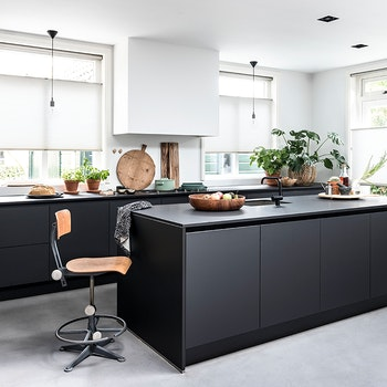 dupli zwarte keuken