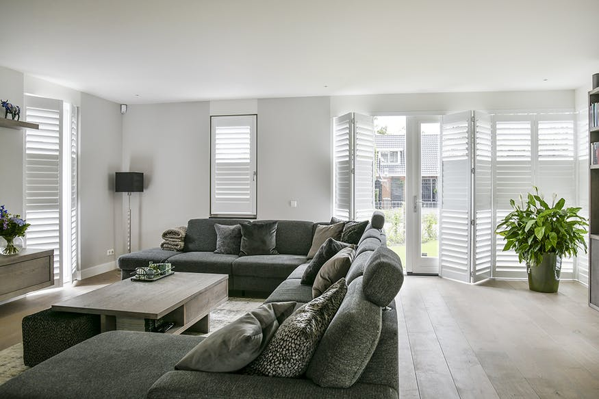 shutters vouwrail