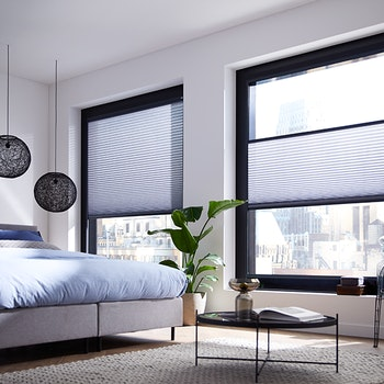 Splendid plisse - slaapkamer